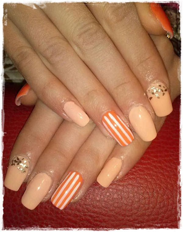Acrylic Nail Art Designs 1