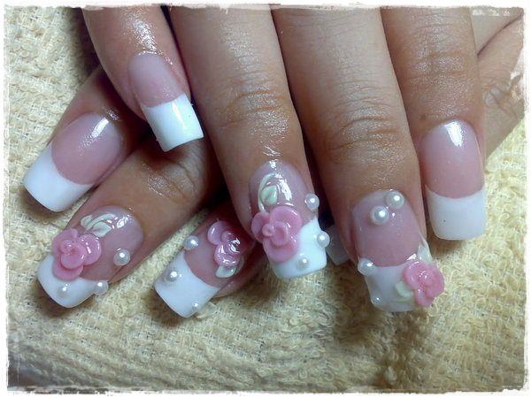 Acrylic Nail Art Designs 11
