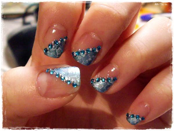 Acrylic Nail Art Designs 14