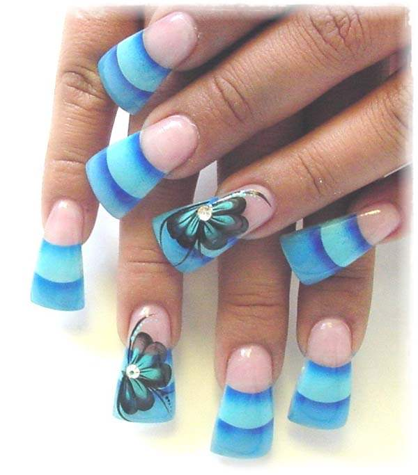 Acrylic Nail Art Designs 17 Acrylic Nail Art Designs 18 ... - 55 Cool Acrylic Nail Art Designs That Drop Your Jaw Off