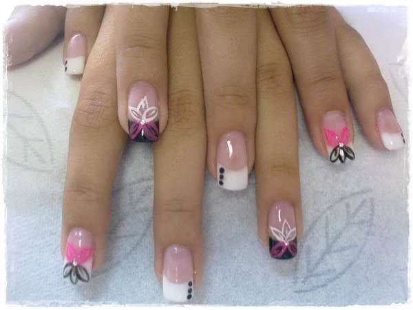 Acrylic Nail Art Designs 19