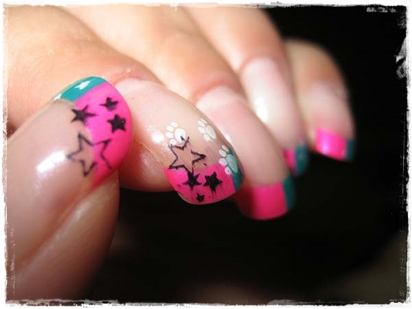 Acrylic Nail Art Designs 21