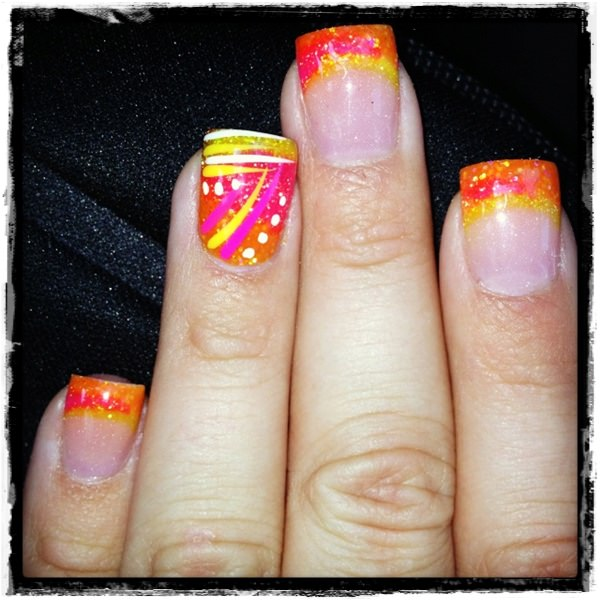 Acrylic Nail Art Designs 26