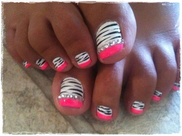 Acrylic Nail Art Designs 34