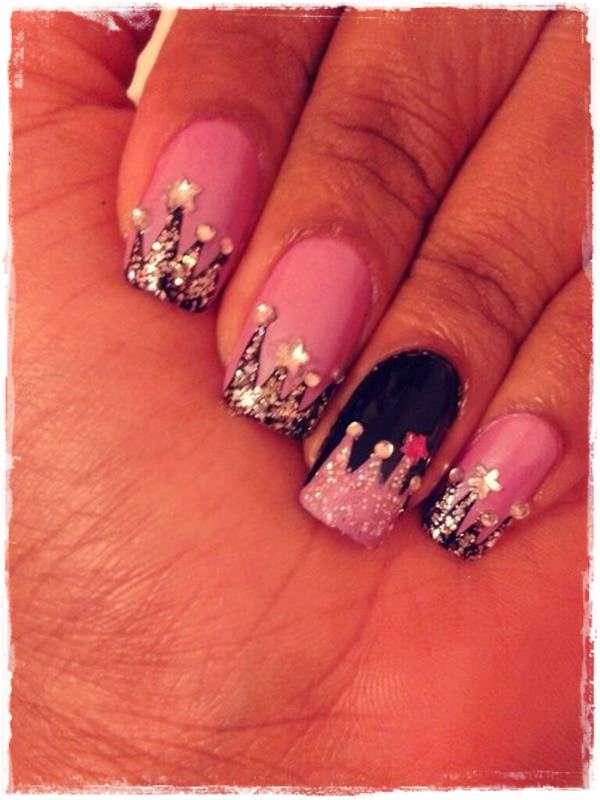 Acrylic Nail Art Designs 37 ... - 55 Cool Acrylic Nail Art Designs That Drop Your Jaw Off