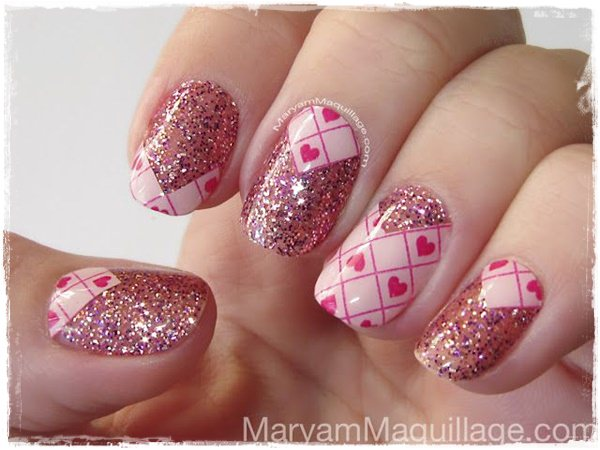 Acrylic Nail Art Designs 38