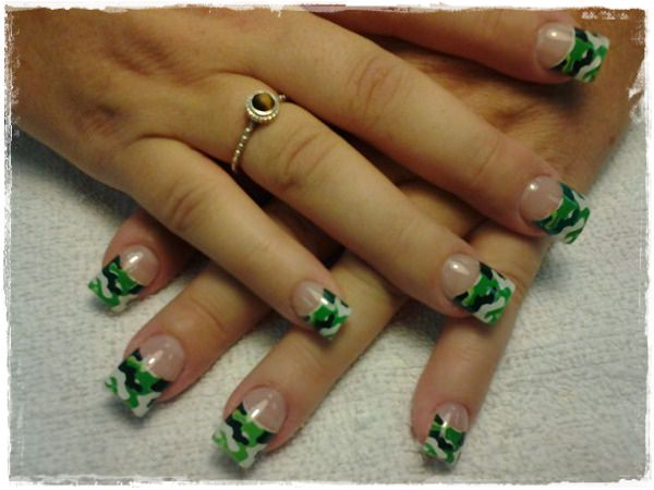 Acrylic Nail Art Designs 40