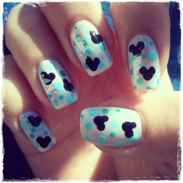 Acrylic Nail Art Designs 5