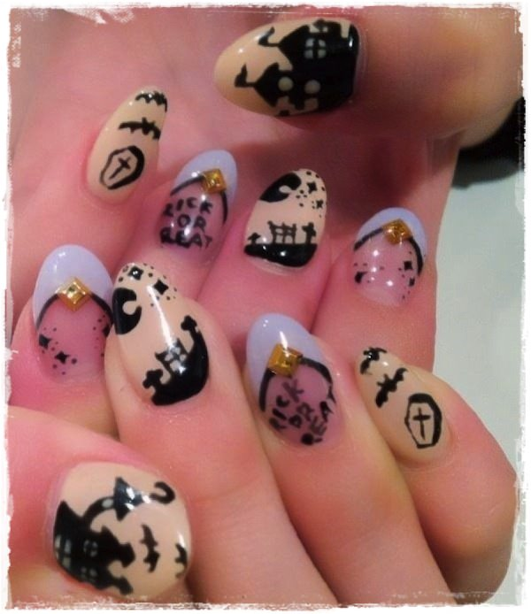 Acrylic Nail Art Designs 51