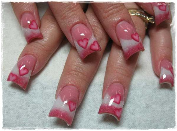 Acrylic Nail Art Designs 8