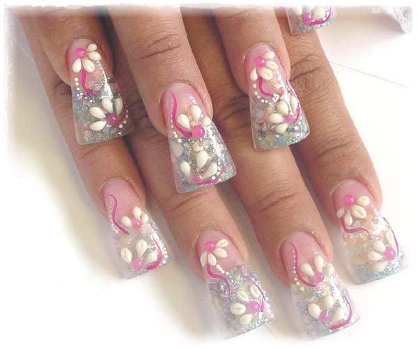 Acrylic Nail Art Designs 9