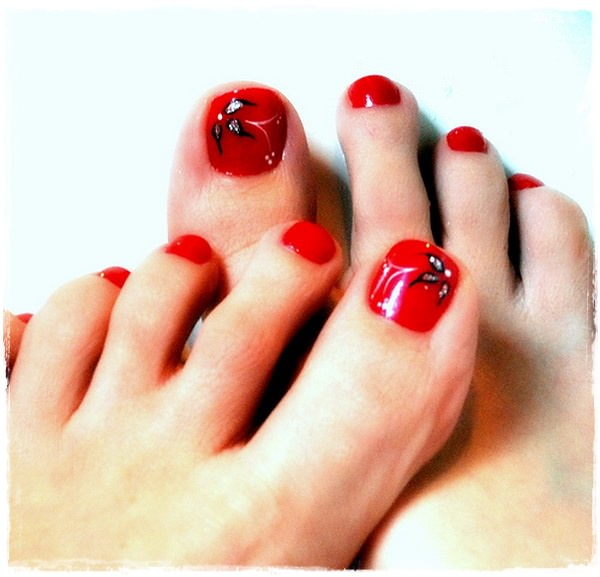 45 childishly easy toe nail designs 2015 new toe nail art designs for eid prinsesfo Choice Image