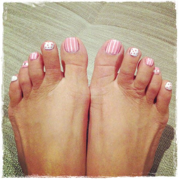 frenchpedicure Toe Nail Designs ... - 45 Childishly Easy Toe Nail Designs 2015
