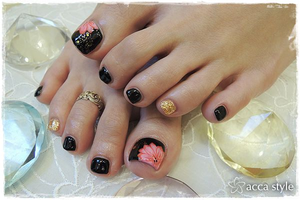 Cute and easy nail designs for your toes best nails 2018 45 childishly easy toe nail designs 2016 prinsesfo Choice Image