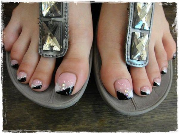 toe nail designs 14 ... - 45 Childishly Easy Toe Nail Designs 2015
