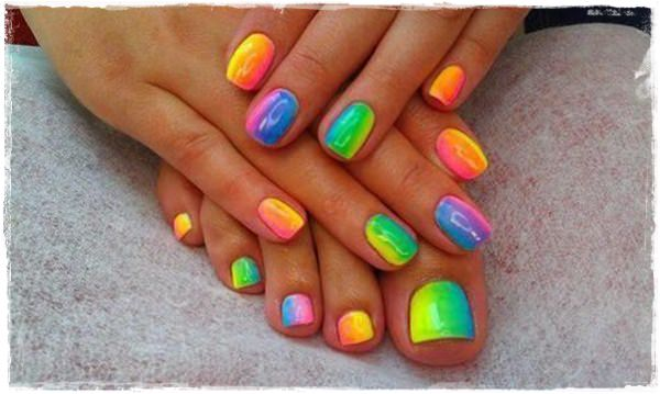 ... toe nail designs 38 ... - 45 Childishly Easy Toe Nail Designs 2015