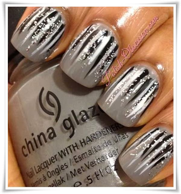 Black And White Nail 121