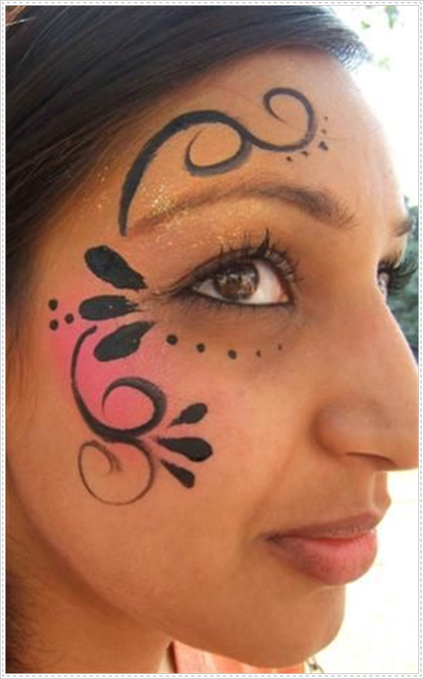 51 easy face painting ideas to light up your life. Black Bedroom Furniture Sets. Home Design Ideas