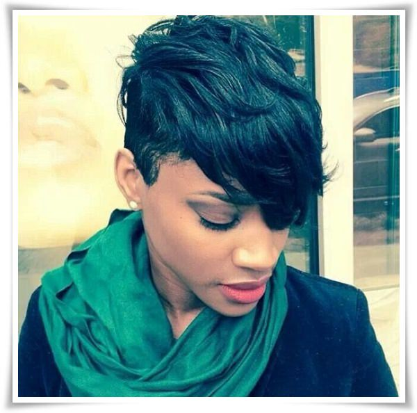 Short Hairstyles for Black Women 35