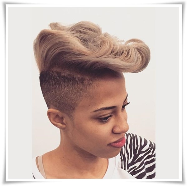 Short Hairstyles for Black Women 4