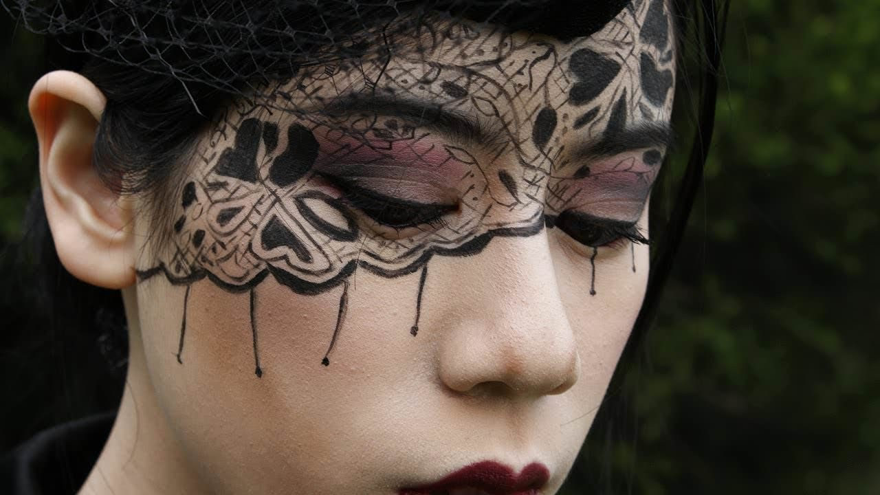 Uncategorized Black Face Paint Ideas 51 easy face painting ideas to light up your life