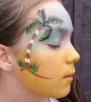face painting design 6
