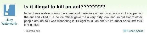 funny yahoo questions 7