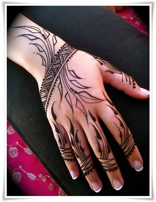 heena tattoos for girls