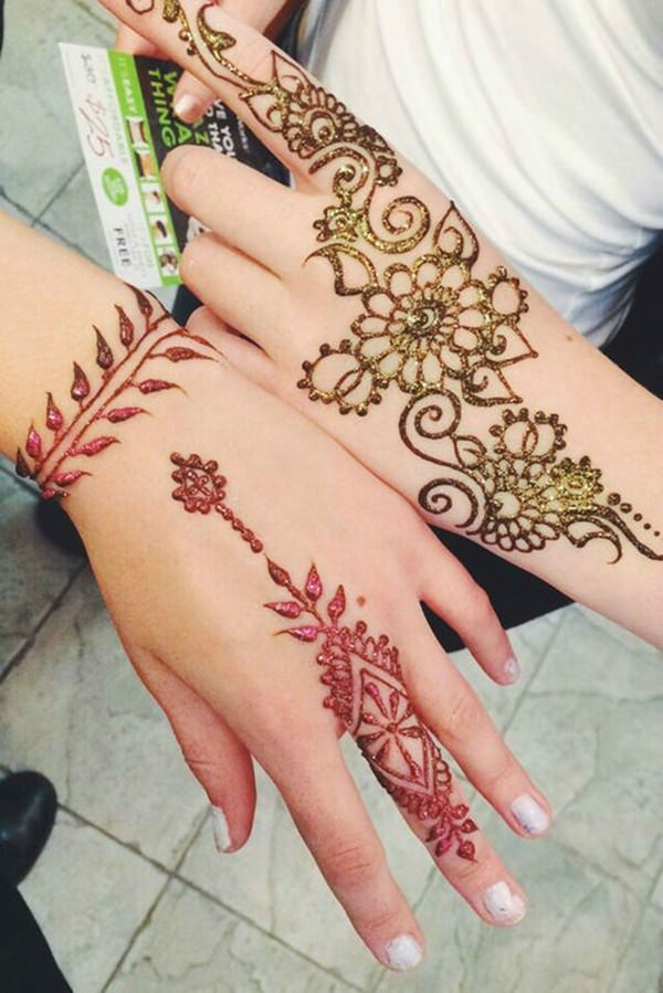 44 Henna Body Tattoos To Transform Your Figure Into Art