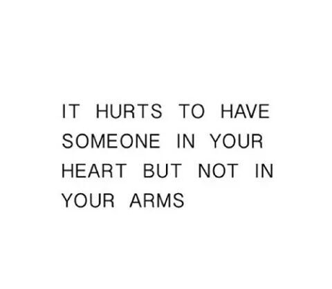 it hurts quote