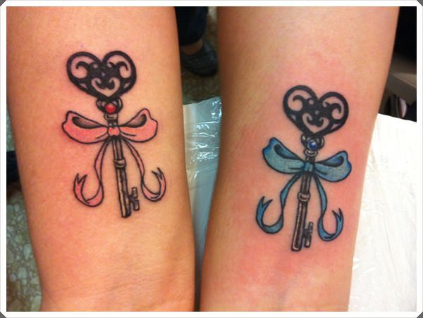 mother daughter tattoos 21