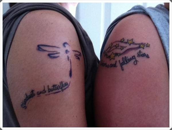 mother daughter tattoos 24