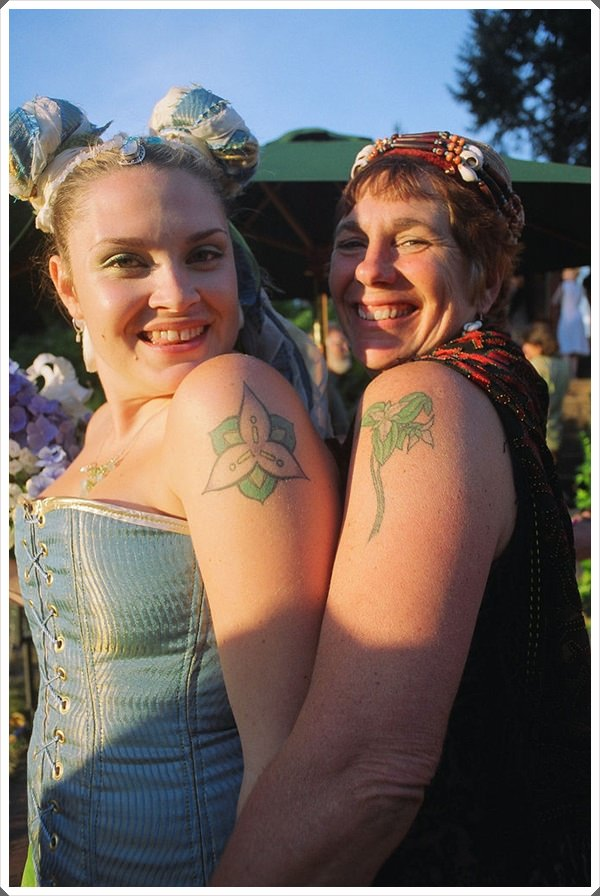 mother daughter tattoos 45