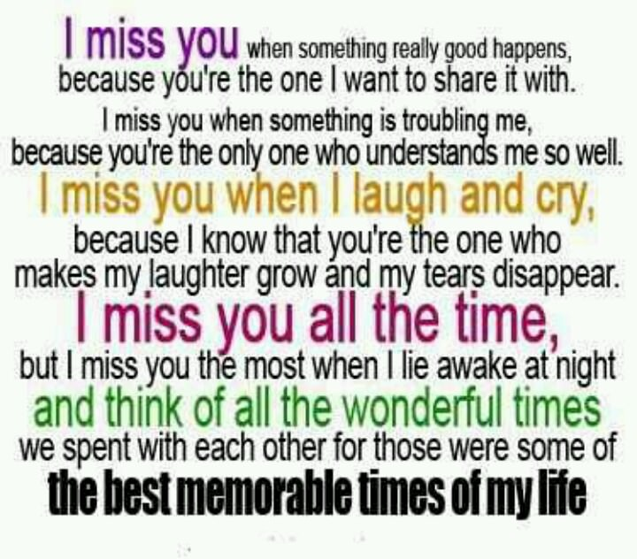 Quotes about missing ur best friend