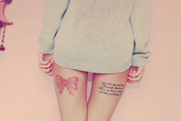 Sexy Thigh Tattoo Ideas and Designs for Women28