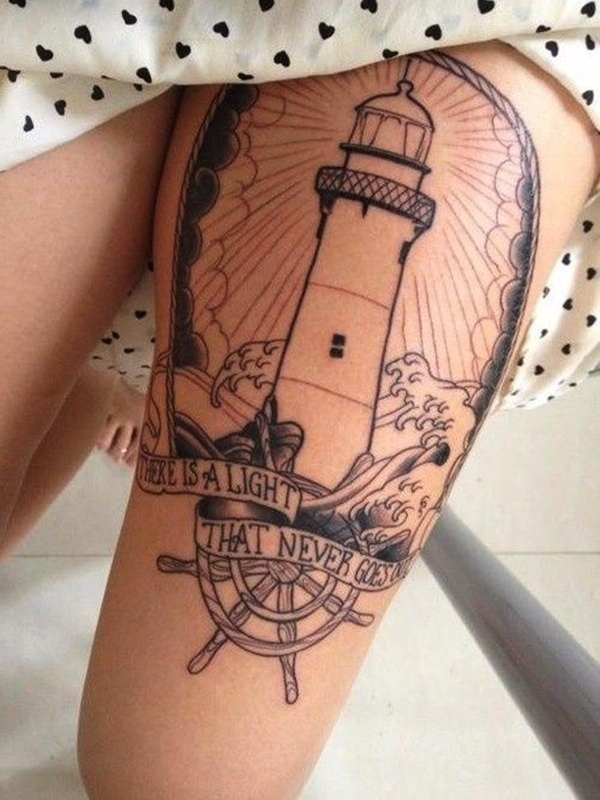 Sexy Thigh Tattoo Ideas and Designs for Women31