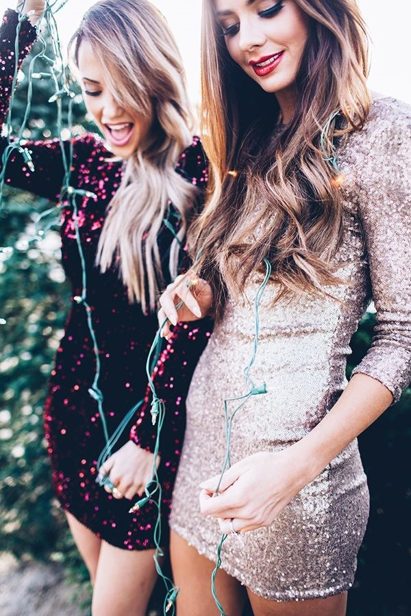 Sexy Tight Short Dresses for Girls1-NYE + sparkle + dress