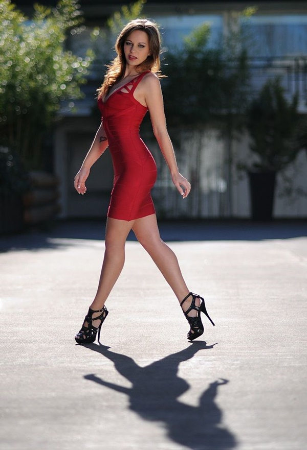 Sexy Tight Short Dresses for Girls30-Sexy red club dresses