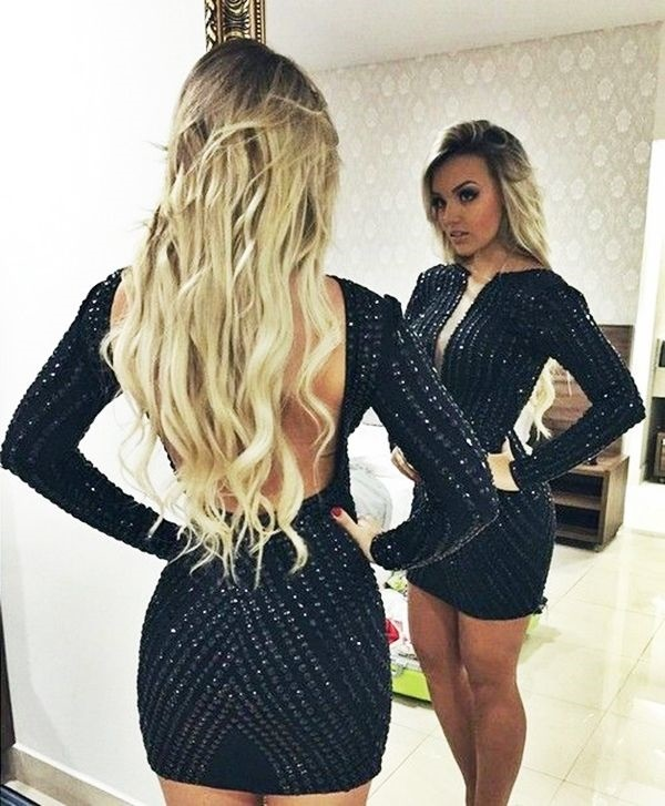 Sexy Tight Short Dresses for Girls85