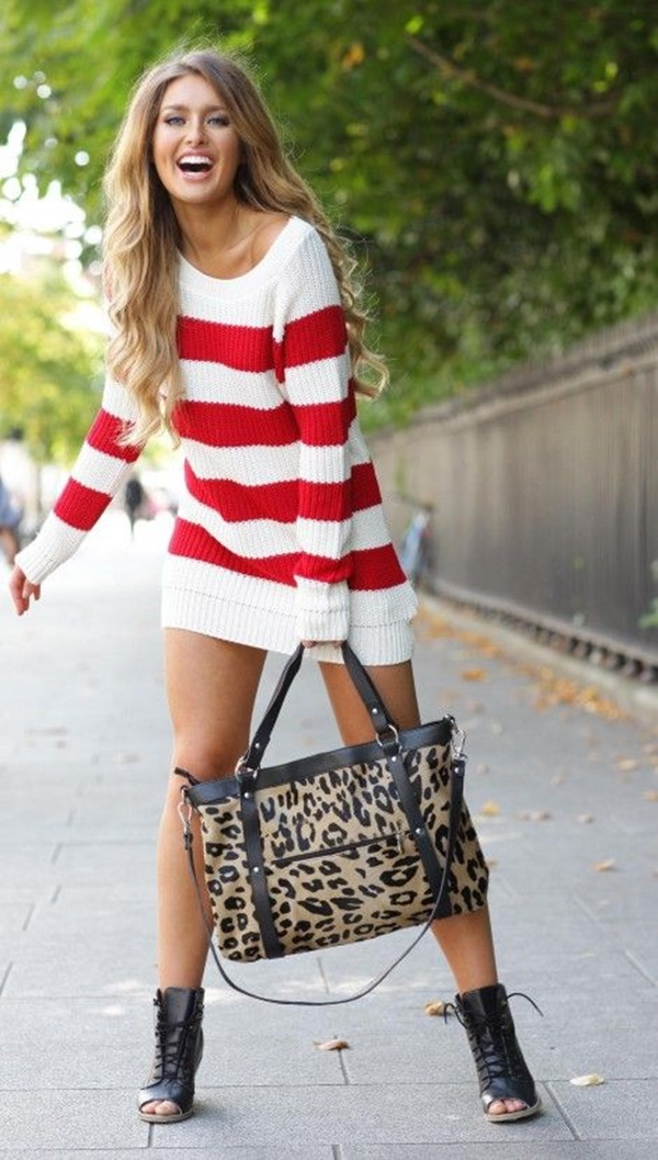 Sexy Tight Short Dresses for Girls97-oversized sweaters