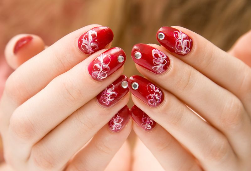 45 lifesaver red nail designs ah red prinsesfo Gallery