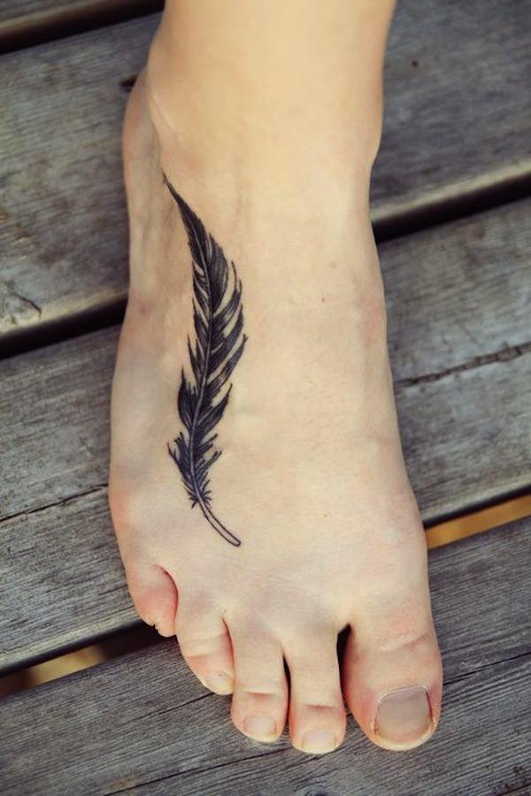 Quill Feather Tattoo
