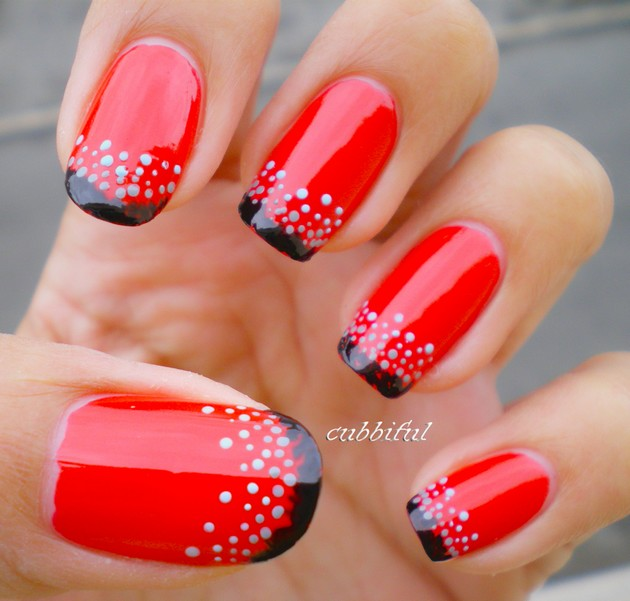 - 45 Lifesaver Red Nail Designs