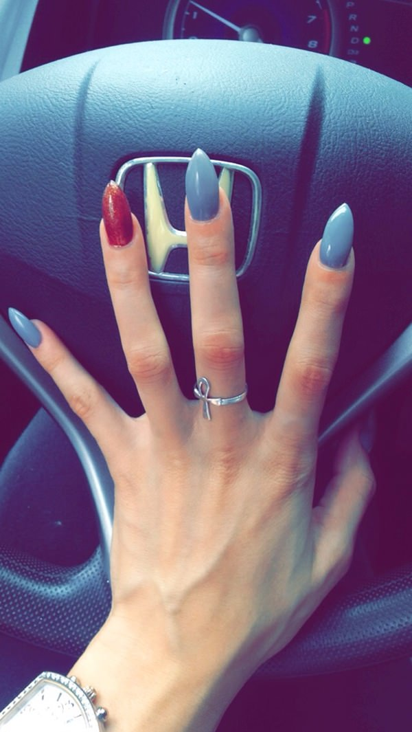 45 Glamorous Stiletto Nail Designs To Obsess Over Should You Get