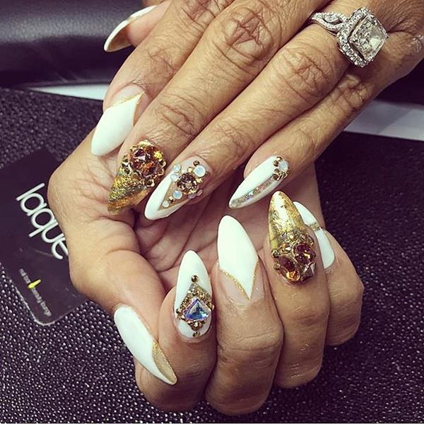45 Glamorous Stiletto Nail Designs to Obsess Over (+ Should You Get ...