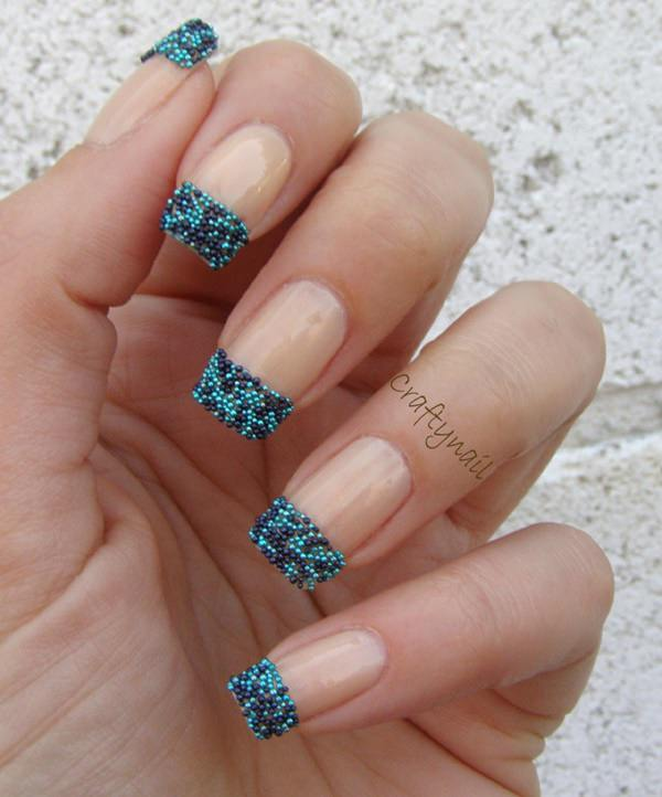 OLYMPUS DIGITAL CAMERA - 55 Gorgeous French Tip Nail Designs For A Classy Manicure