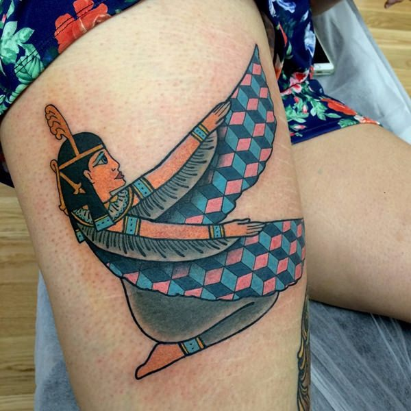80 mysterious egyptian tattoos for those fascinated by mythology. Black Bedroom Furniture Sets. Home Design Ideas