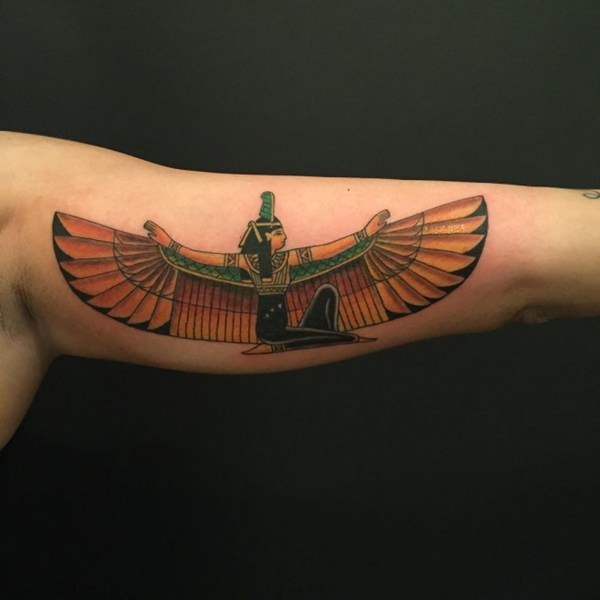 cfa10066178f9 80+ Mysterious Egyptian Tattoos for Those Fascinated by Mythology