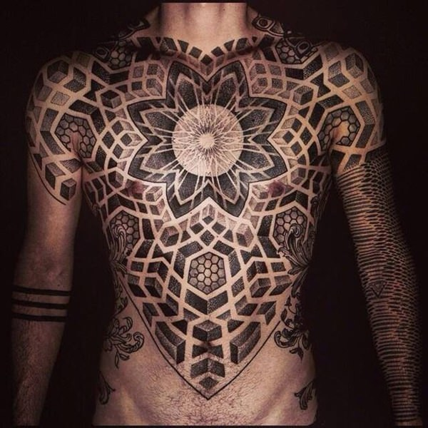 Geometric Designs Tattoo Neck: 80+ Sacred Geometry Tattoos That Will Take Your Breath Away