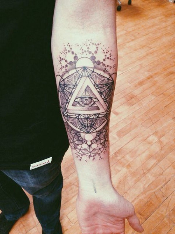 80 Sacred Geometry Tattoos That Will Take Your Breath Away